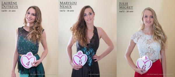 MISS POITOU-CHARENTES 2015 :: Les candidates