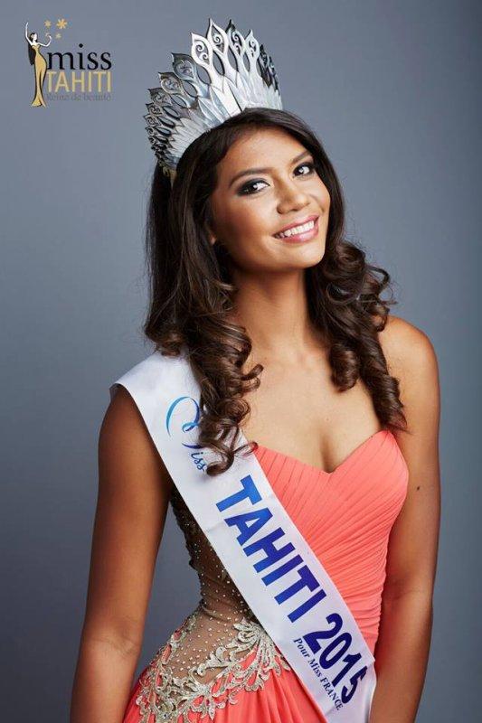 Miss Tahiti 2015, Vaimiti Teiefitu :: Photos