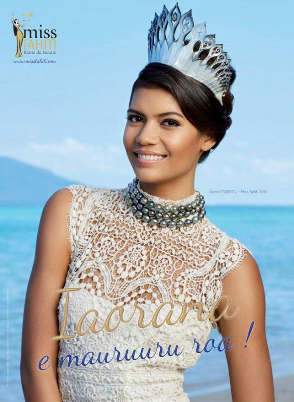 Miss Tahiti 2015, Vaimiti Teiefitu :: Photos