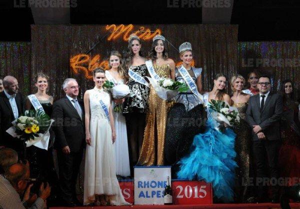 MISS RHÔNE-ALPES 2015 :: NORA BENGRINE
