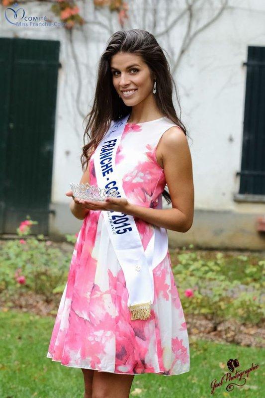 Miss Franche-Comté 2015, Alizée Vannier :: Photos