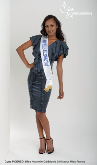 Miss Nouvelle-Calédonie 2015, Gyna Moereo :: Photos