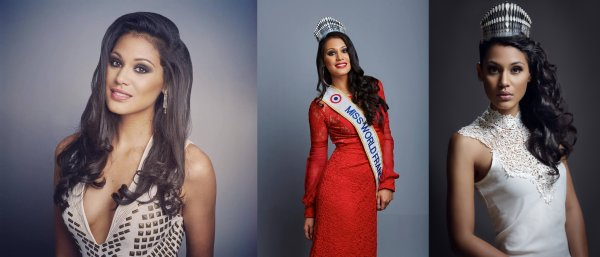 Hinarere Taputu - Miss World / Alyssa Wurtz - Miss Earth