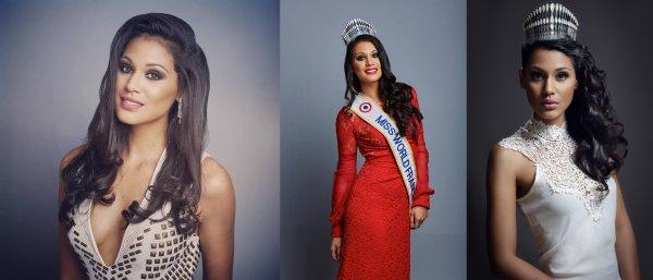 Hinarere Taputu - Miss World / Alyssa Wurtz - Miss Earth
