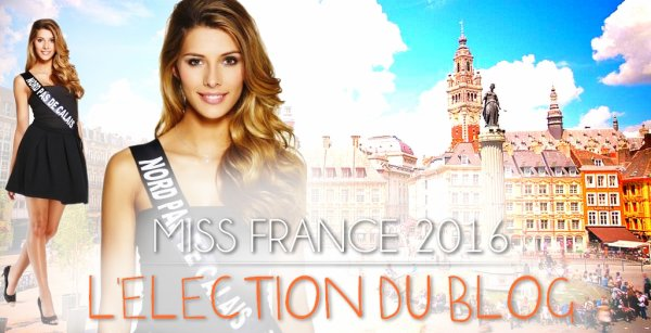 MISS FRANCE 2016 :: L'ÉLECTION DU BLOG