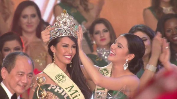 Miss Earth 2015 est Miss Philippines !