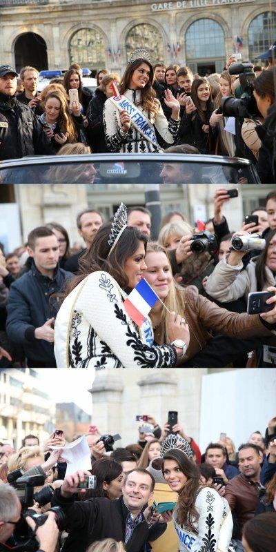 Iris Mittenaere | Gala / Retour à Lille