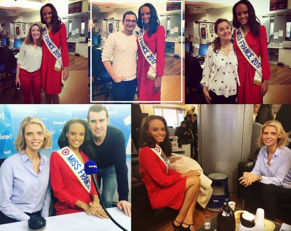 Miss France 2017   Tournée médiatique
