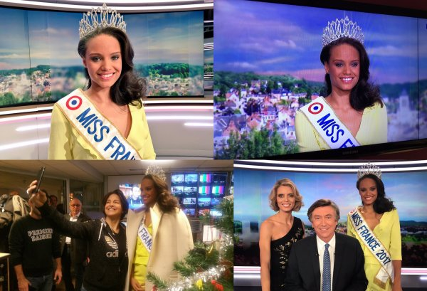 Miss France 2017 | Tournée médiatique