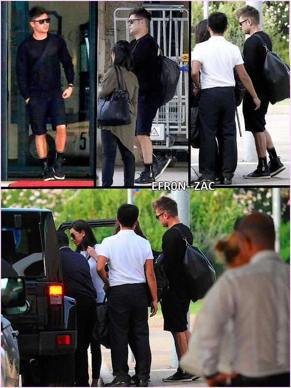 ➽ EFR0N--ZACToday : 11/07/14 - Zac en vacances en Italie !    Zac Efron CANDIDS
