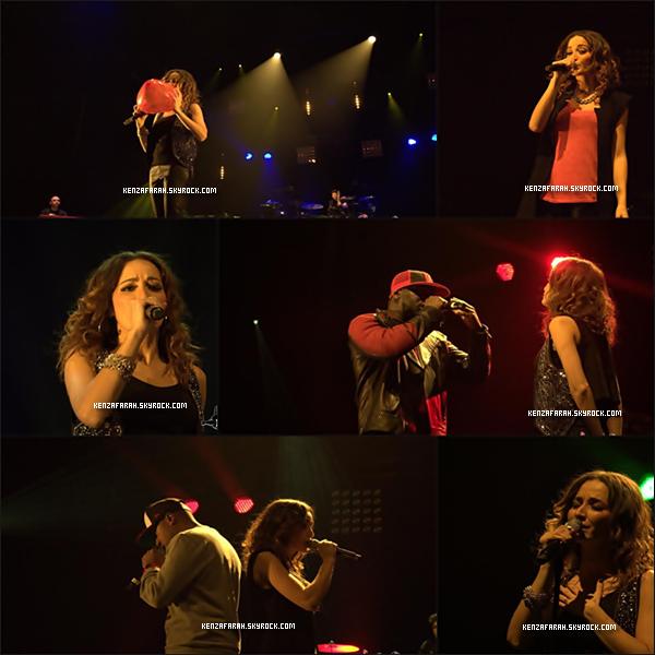 Kenza Farah a L'Olympia ( 02 / 02 / 2013 )