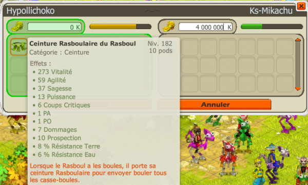 Article N°8 : up 2oo // Double achat Rasbou Pa // up Guilde