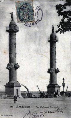 CARTES POSTALES ANCIENNES DE BORDEAUX