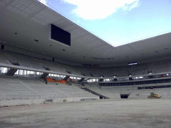 AVANCEMENT TRAVAUX GRAND STADE  SEPTEMBRE 2014
