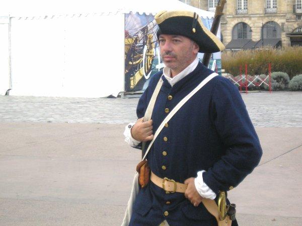L'HERMIONE à quai à Bordeaux
