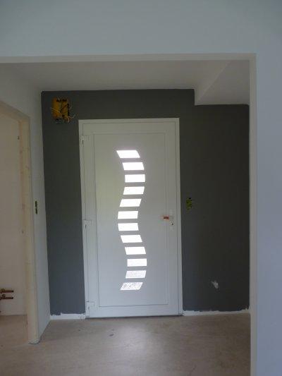 11 06 11 peinture blog de notre future construction for Peinture porte interieure gris anthracite