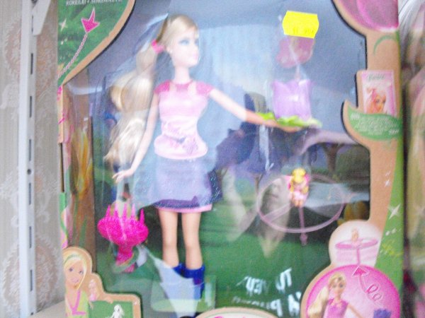 Barbie et son ami Lilipucia
