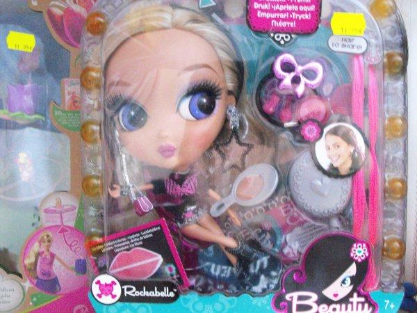 Rockabelle Beauty Cuties de Mattel