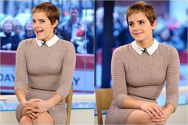 Always & Forever Always & Forever Le 16 Novembre 2010 : Emma Watson était sur le plateau du Today Show pour promouvoir l'avant dernier film de la trilogie Harry Potter. Vidéo de l'apparence. Je la trouve vraiment magnifique quand je pense que les gens la trouvait moche à cette époque ils s'en mordent les doigts et je suis sûre que sa ferra la même chose avec Miley Cyrus.   Always & Forever