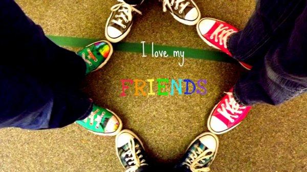 i love my friend
