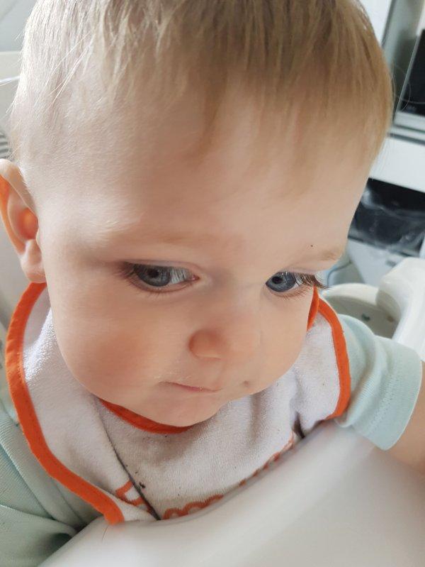 14 mois pour mon petit loulou STELLIO