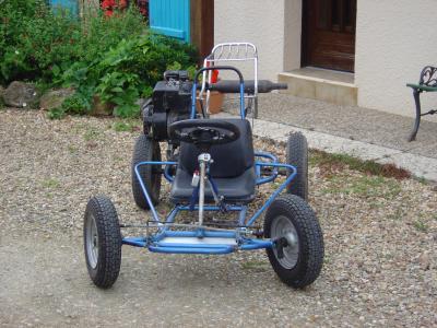 Mon buggy fait maison - la vie de Didou