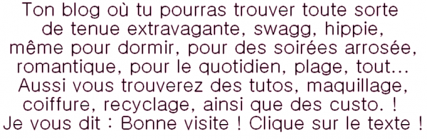 Bienvenue chez Style-Inspiration-Swagg