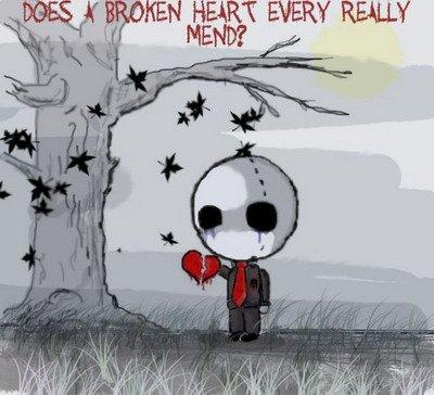 Trop aime + Trop confiance + fidele + Trop sincere = mille souffrances