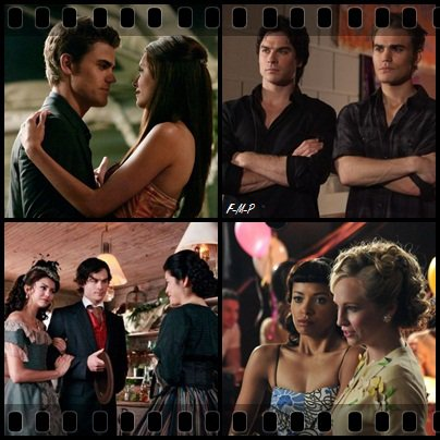 The Vampire Diaries, Saison 1 (Série)