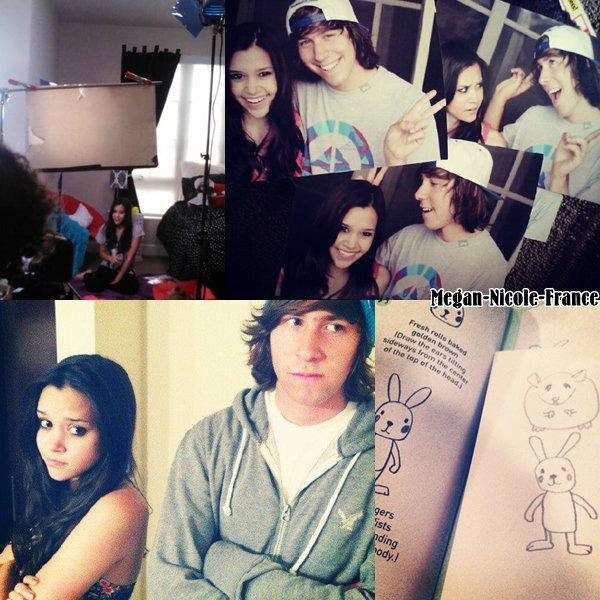 Nouvelles photos de Megan avec Jon et DeStorm. Elle nous a préparer un cover, qui sortira dans les prochains jours.