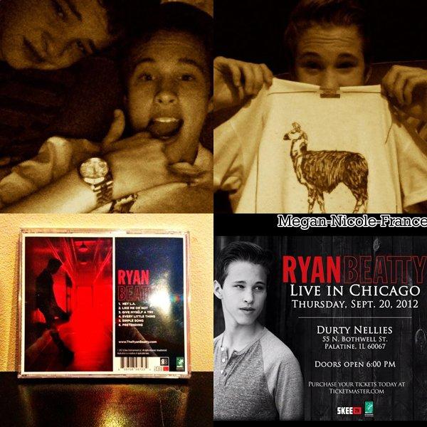 Nouvelles photos de Megan. Justin Bieber a reprit la chanson Every Little Thing de Ryan !