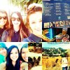 Nouvelles photos de Megan a Disneyland.Des vidéos du concert XLent Night Out.