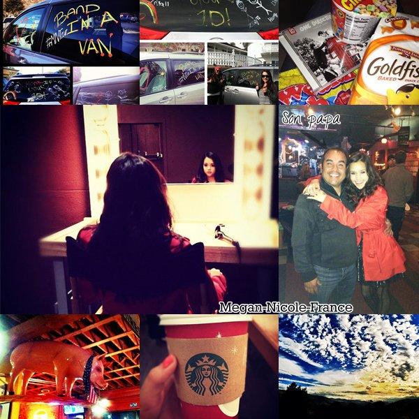 Nouvelles photos provenant d'Instagram de Megan.Nouveau cover en collaboration avec Sam Tsui. La vidéo entière du concert qui était en direct.