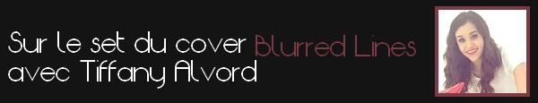 • Nouvelles photos provenant d'un nouveau cover Blurred Lines
