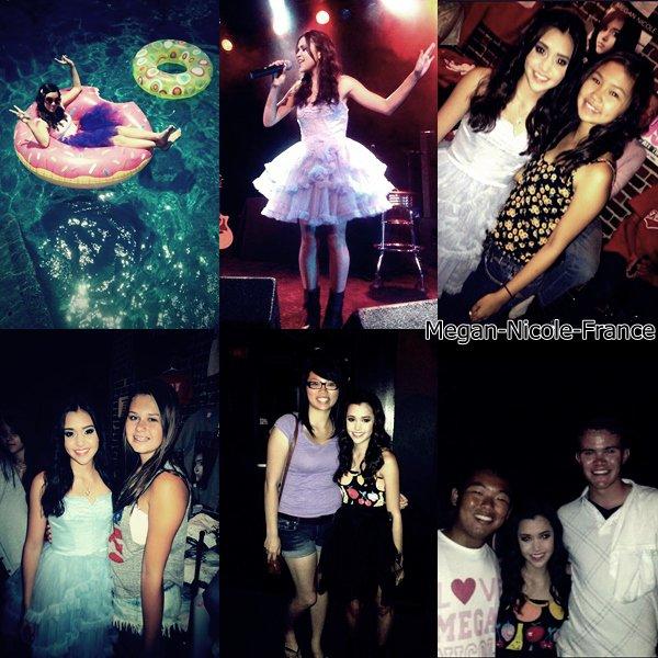 • Photos avec des fans et des différents concerts