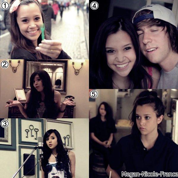• Découvre une ancienne vidéo de Megan et de son groupeDes jeux sont également en ligne ♫