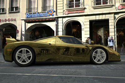 enzo gold chrome