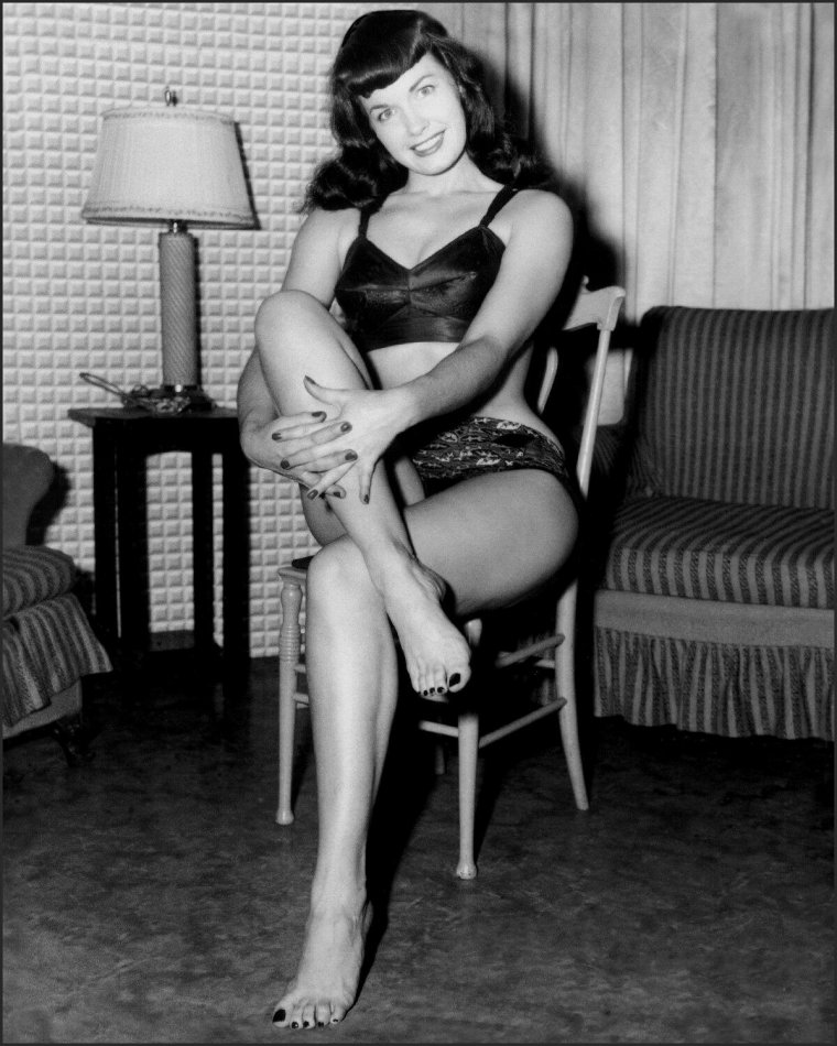 Bettie Page la reine des pin up