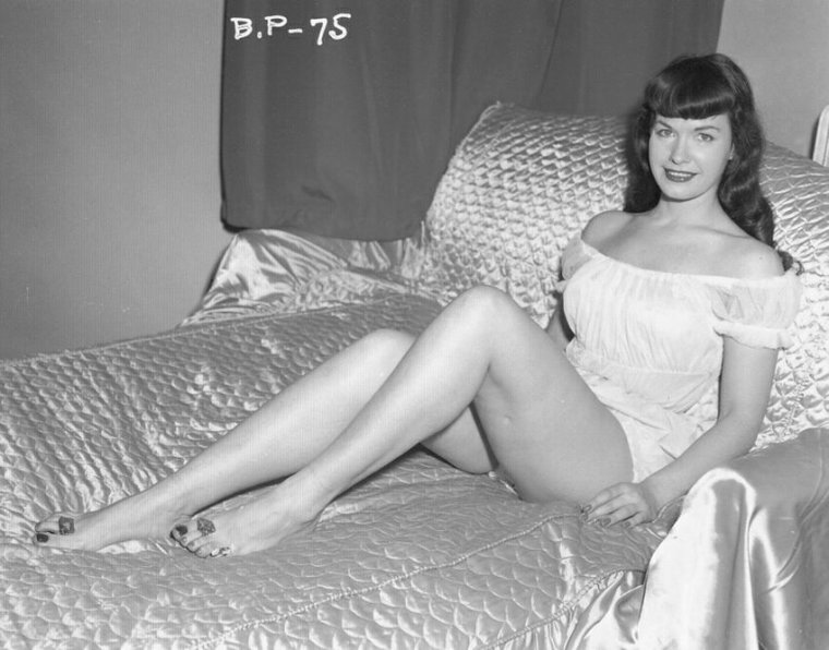 Bettie Page la reine des pin up ...