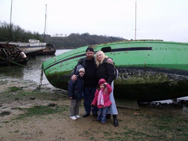 moi et mon mari et mes enfants