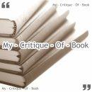 Photo de My-Critique-of-book