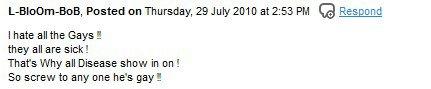 Je me souviens avoir reçu ce commentaire sur mon ancien blog...