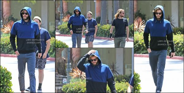 03.05.2017 : Liam Hemsworth  ,a été vu avec son ami faisant une petite séance shopping à  Malibu