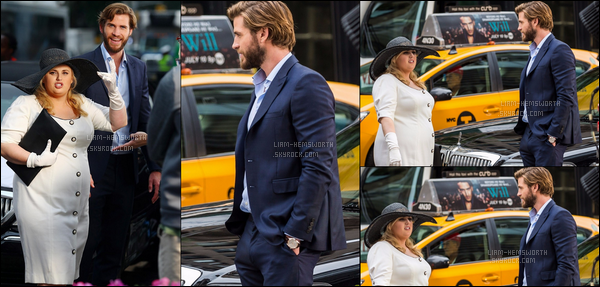 "25.07.2017 : Liam Hemsworth  était sur le tournage de ""Isn't it romantic"" avec Rebel Wilson à  New York"