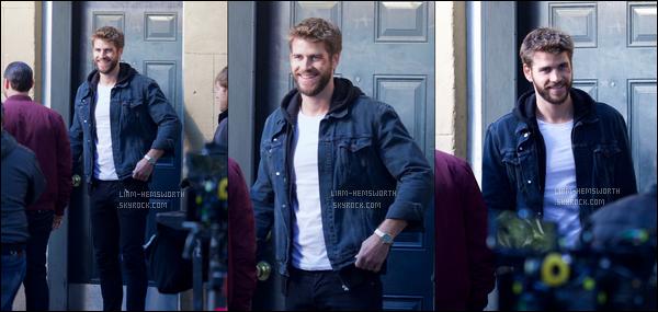 """02.11.2017 : Liam Hemsworth  était de nouveau sur le tournage du film """"Killerman"""" à Savannah en Géorgie"""