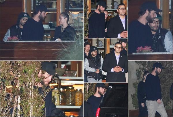 26.05.2018 : Liam a été faire du shopping , puis a passé la soirée avec des amis et sa chérie Miley à Malibu