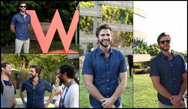 17.09.2018 : Liam Hemsworth enfin de sortie était aux « W Brisbane's Australian-Themed Party  » à Beverly Hills