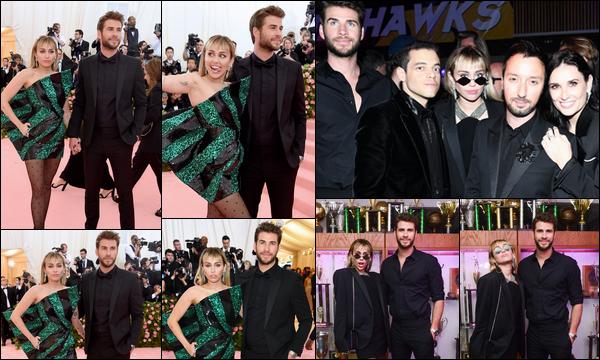 06.05.2019 :  Liam Hemsworth et sa femme Miley Cyrus étaient présents au « MET GALA » situé à New York    Notre petit couple était très élégants, j'aime beaucoup les tenues de Miley et Liam c'est un beau top pour moi