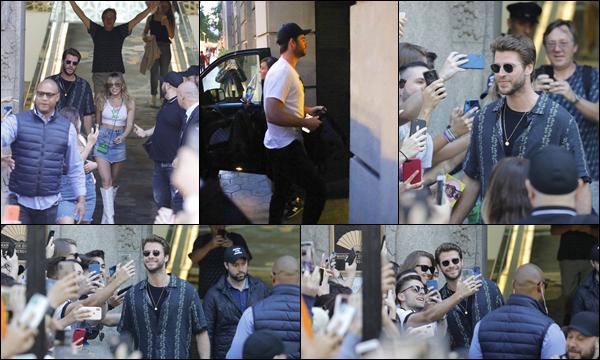29 et 31 Mai 2019 :  Liam Hemsworth était avec son épouse Miley Cyrus au Mandarin Hôtel situé à Barcelone    Notre couple fait une petite virée en Espagne, en effet Miley Cyrus a commencé une série de concerts , c'est un top