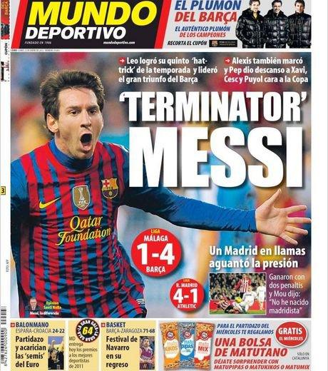 Fc Barcelone 4 - 1 Malaga
